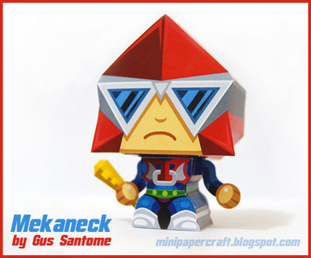 Masters of the Universe - Mini Mekaneck Papercraft
