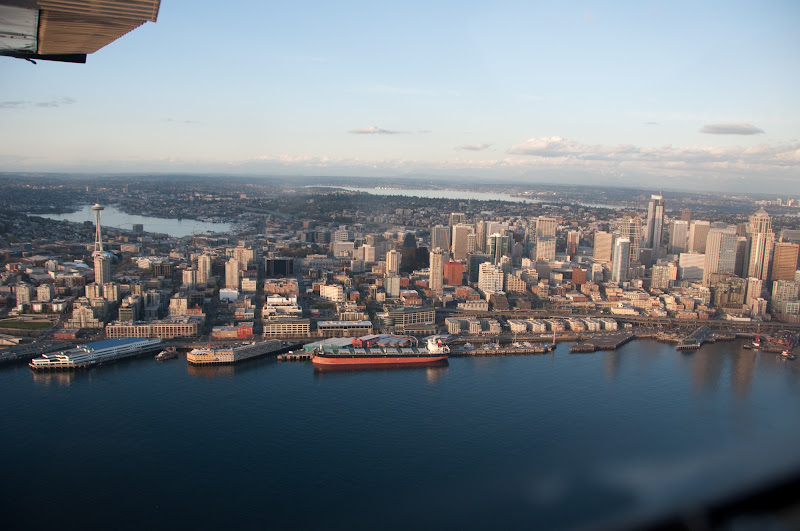 Aerial view of Seattle