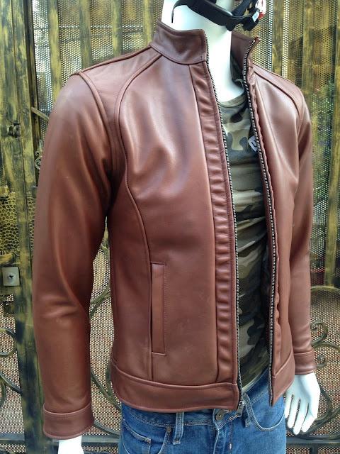 áo khoác da bò nam cao cấp đẹp xịn thời trang tphcm