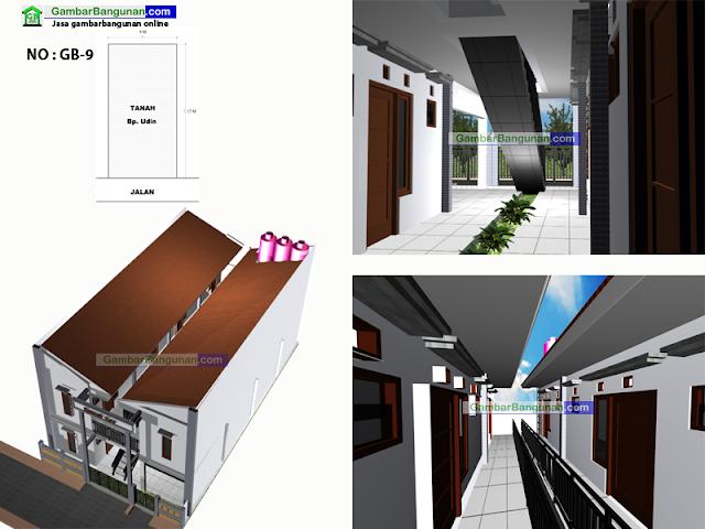 Jasa%2520desain%2520rumah%2520kos Desain rumah kos minimalis 2 lantai di Ambon
