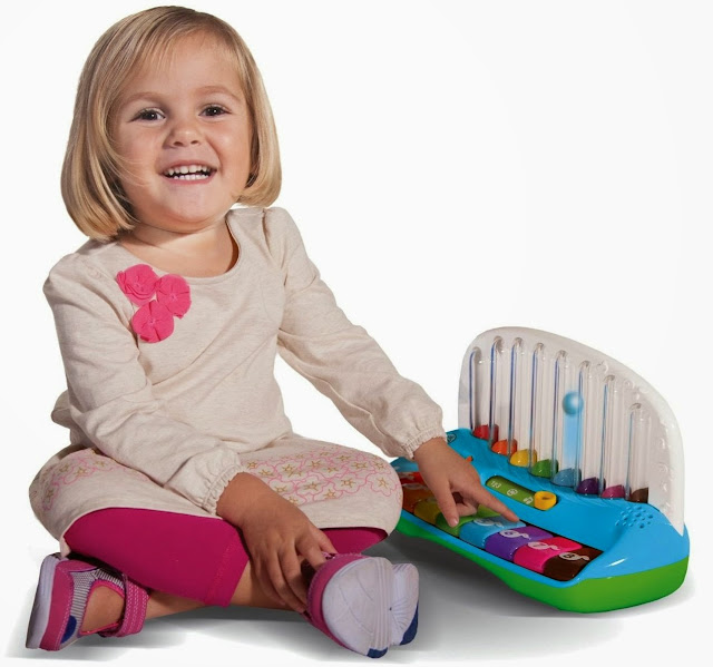 Chiếc đàn Piano học số màu sắc LeapFrog mang lại những giờ phút vui chơi thoải mái và học hỏi bổ ích