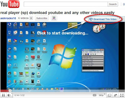 Download and convert unlimited youtube videos with Real Player for free!