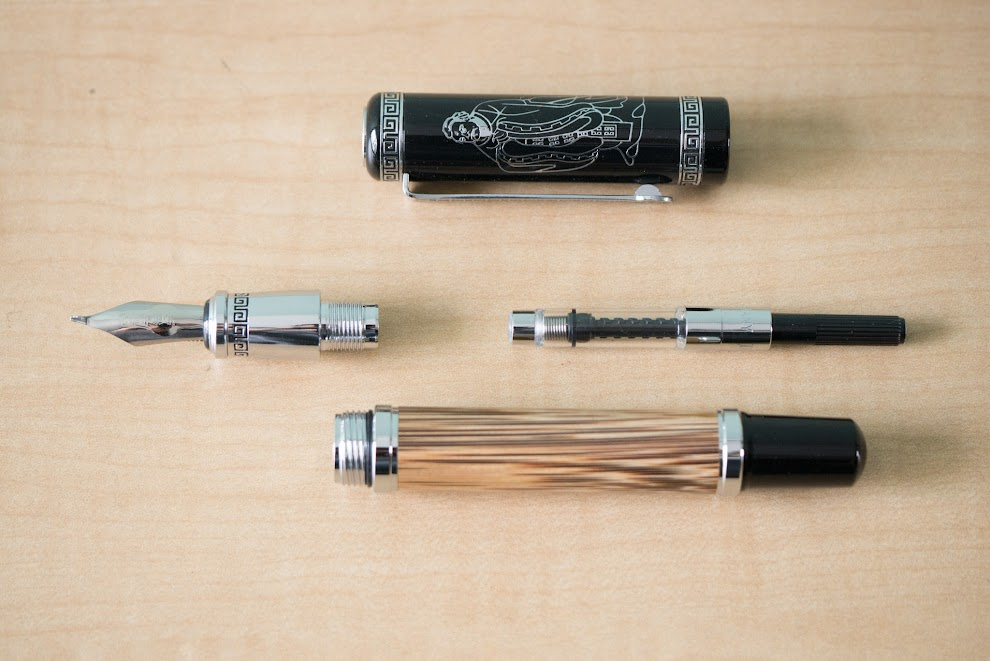 Duke Confucius Compound Art Fountain Pen
