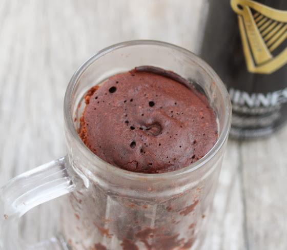 Guinness Stout Chocolate Mug Cake