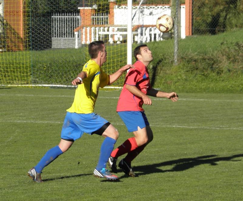 Instante do partido de modestos Narahío-Numancia da pasada temporada (28/10/2012)