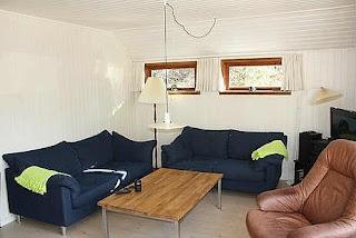 Stue i vores sommerhus i Øster Hurup
