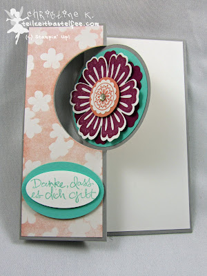 Stampin' Up! - In{k}spire_me #190, Mixed Bunch, Baum der Freundschaft, Sheltering Tree, SAB, Sale-a-Bration, Envelope, Circle Flip Card, DP Zauberhaft, In Worte gefasst, Express Yourself, Umschlag DIN lang