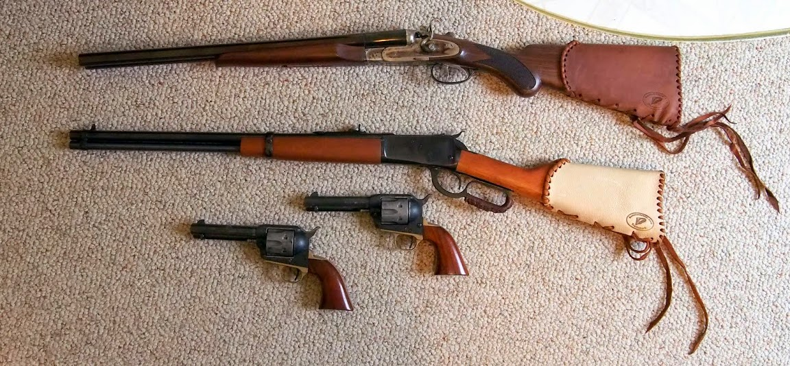 FS: Pedersoli Wyatt Earp DBL Barrel and Rossi 38 Lever Rifle