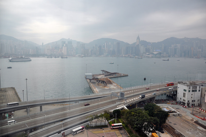 Пасмурная погода в Гонконге