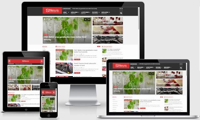 Snews - Template blogspot miễn phí tuyệt đẹp