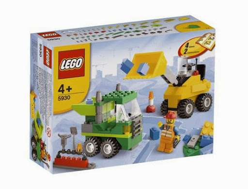 LEGO 5930 Road Construction Building Set – Công trường xây dựng