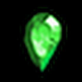 無瑕疵的綠寶石