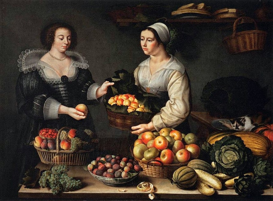 Louise Moillon - The Fruit and Vegetable Costermonger - 1631