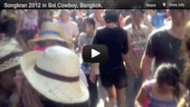 Video Songkran Soi Cowboy Bangkok