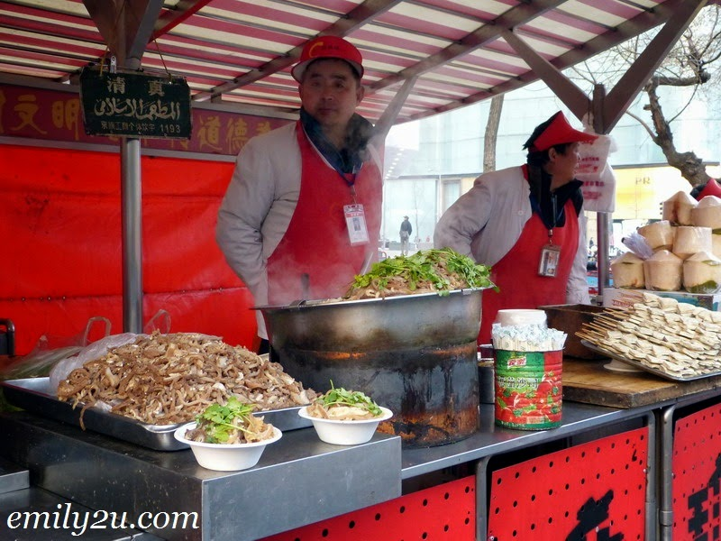 Wang Fu Jing street food Beijing China
