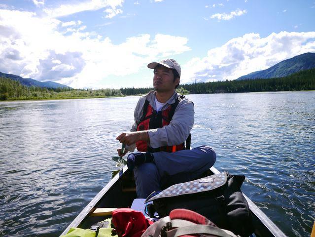 達人帶路-環遊世界-育空河划船