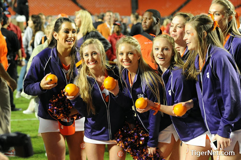 Orange Bowl - Interception and Celebration Photos - 2014, Bowl Game, Cheerleaders, Football, Ohio State