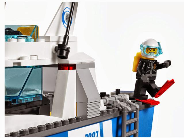 7287 レゴ ポリスボート