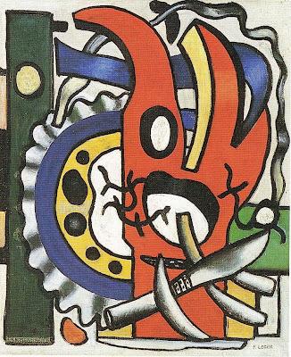 Fernand Léger - Composition au couteau (1943)