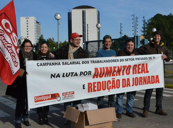 Campanha Salarial do Setor Privado 2011/2012