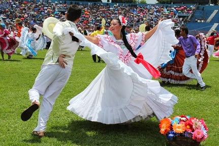 Danzas folklóricas Salvadoreñas