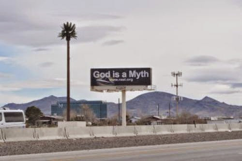 God Is A Myth Raelian Movement Launches Atheistic Campaign