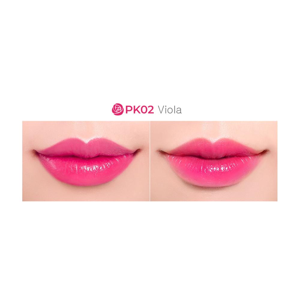 son bông hồng Labiotte Flomance Lip Color Shine
