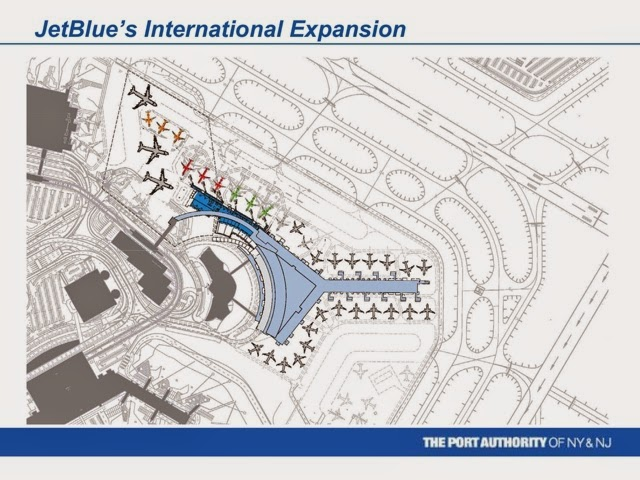About airport planning jfk airport jetblue t5i expansion Airport planning and design course
