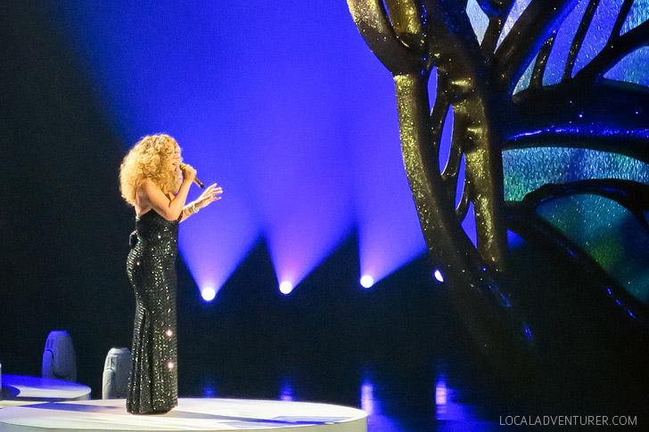 Mariah Carey Las Vegas Show #1 to Infinity Review.