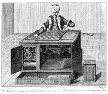 Tuerkischer schachspieler W. von Kempelen - K. von Windisch