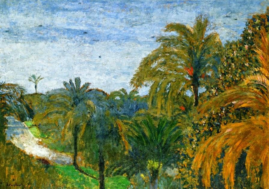 Édouard Vuillard - Garden in Cannes