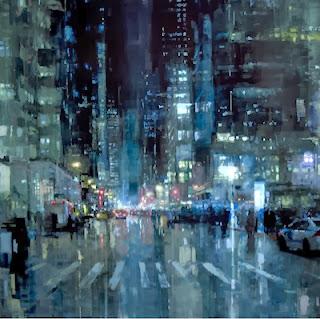 Paisaje urbano - Jeremy Mann