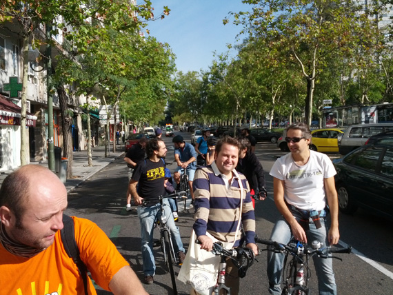 Así ha sido nuestra Fiesta de ciclismo urbano del sábado 6 de octubre 2012