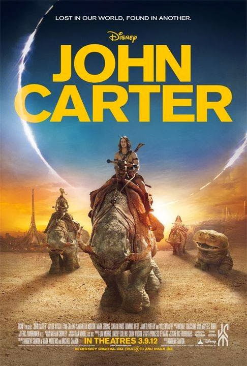 Poster Of John Carter (2012) Full Movie Hindi Dubbed Free Download Watch Online At Alldownloads4u.Com
