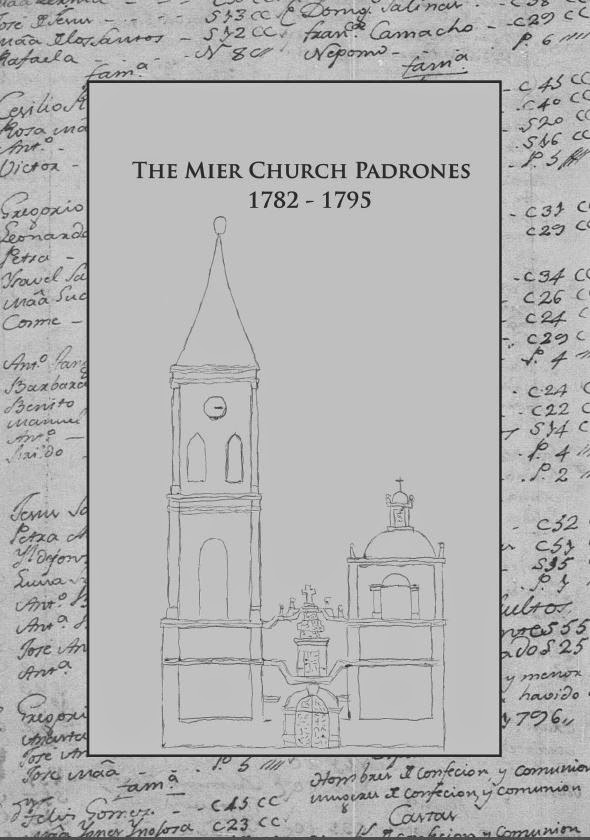 MIer Church Padrones 1782-1795