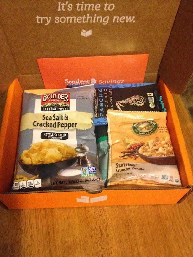 Send Me Gluten Free November box opening
