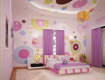 purple2 Purple in Tween and Teen Bedrooms 10