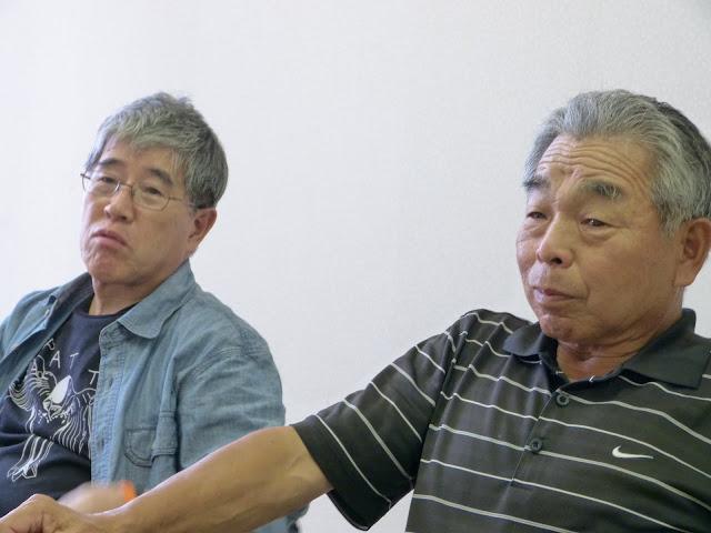 干場功代表と田中盛亮副代表