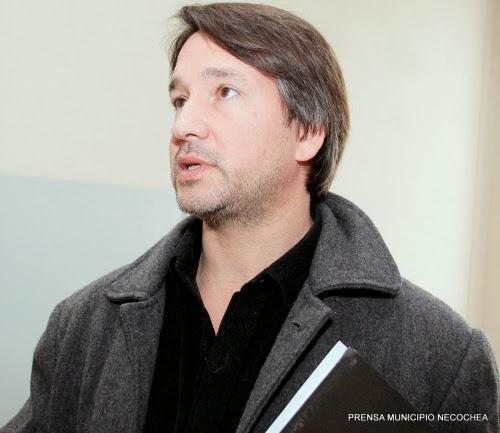 El director de Atención Primaria de la Salud Dr. Maximiliano Delfino