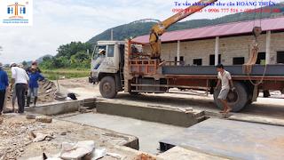 Dịch vụ kiểm định cân ô tô xe tải 80 tấn - cantreo
