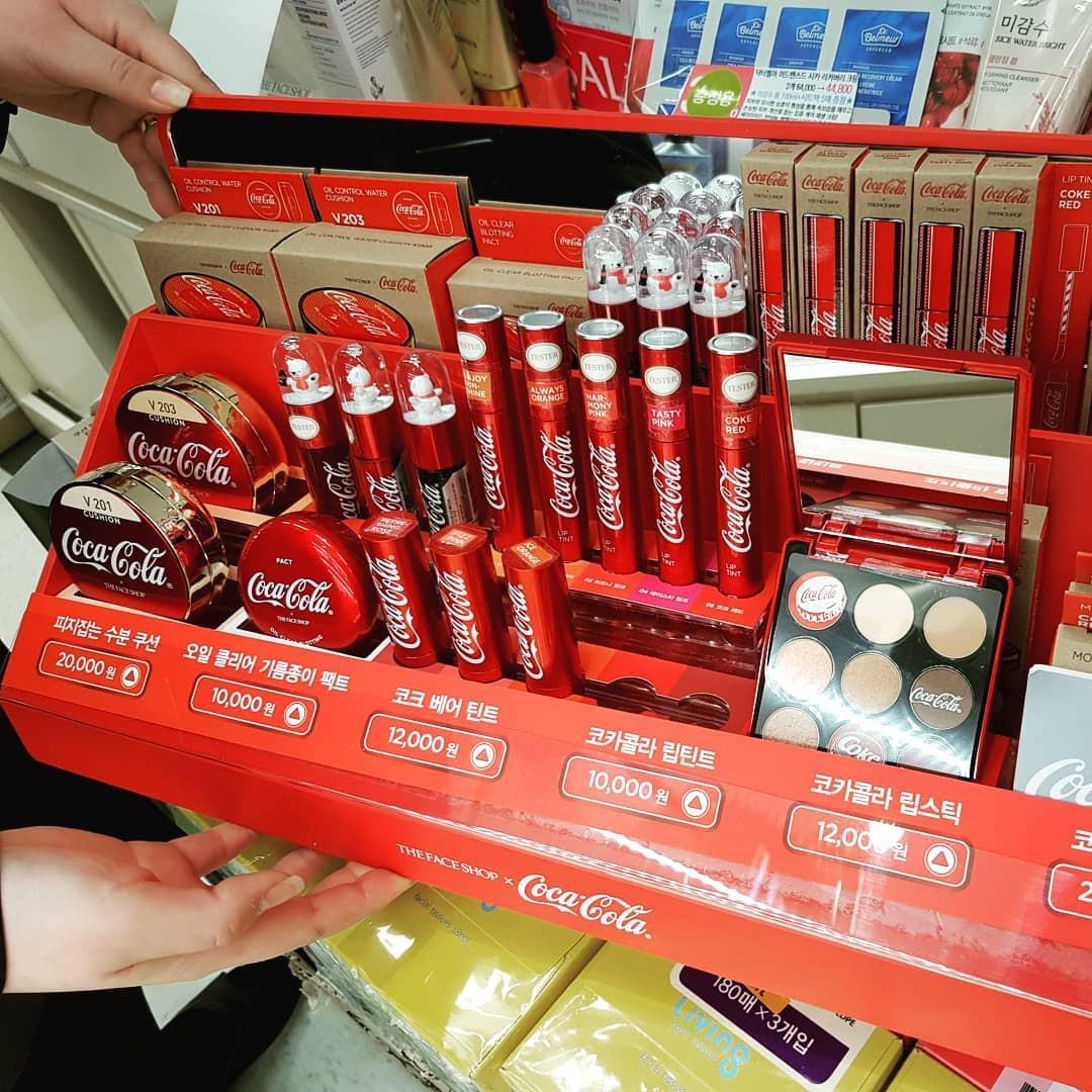BST The Face Shop x Coca Cola