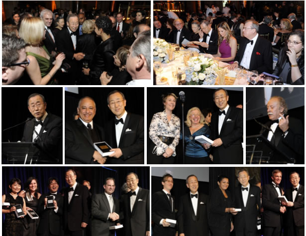 UNCA Awards Dinner Collage