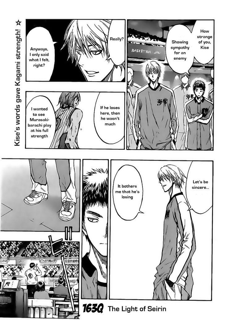 Kuroko no Basket Manga Chapter 163 - Image 01