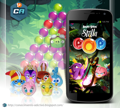 Angry Birds Stella POP 1.0.16 Hack Unlimited