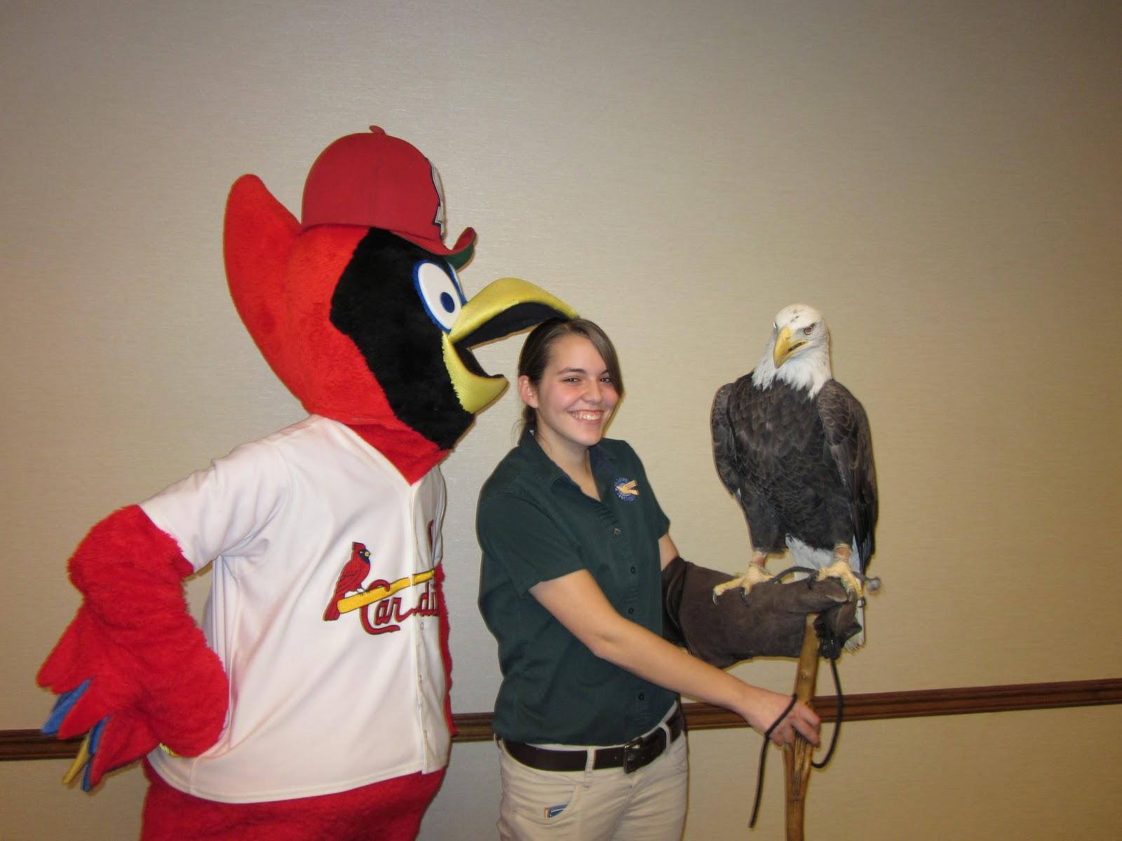 World Bird Sanctuary: Clark and Fredbird Team Up