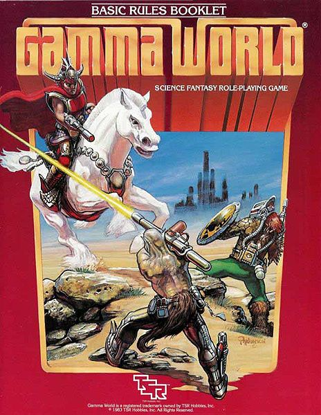 gamma world Mundos de Dungeons & Dragons