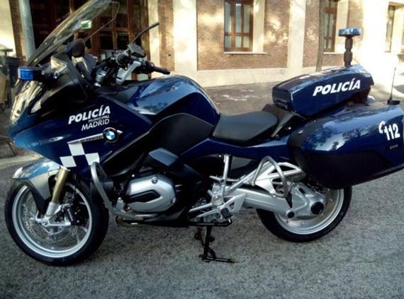 Nuevas motos de la Unidad de Tráfico de la Policía Municipal
