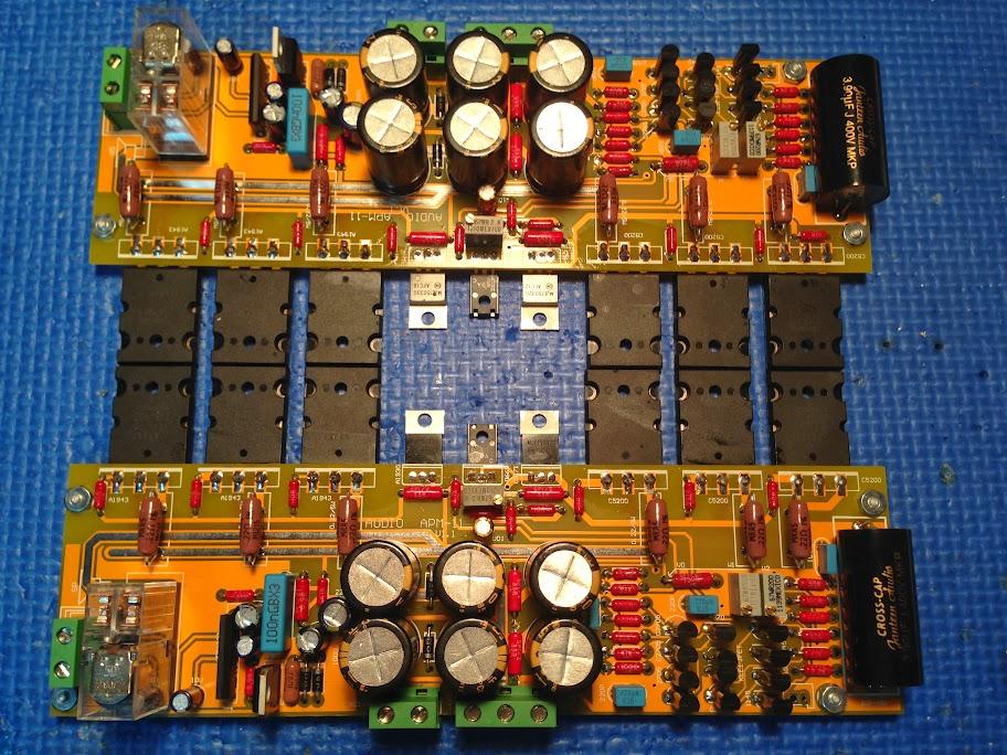 Amplificateur de type CFA avec sortie bipolaire 2SC5200/2SA1943 2013-11-18%252021.11.21