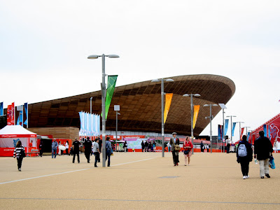 Olympic Velodrome in London