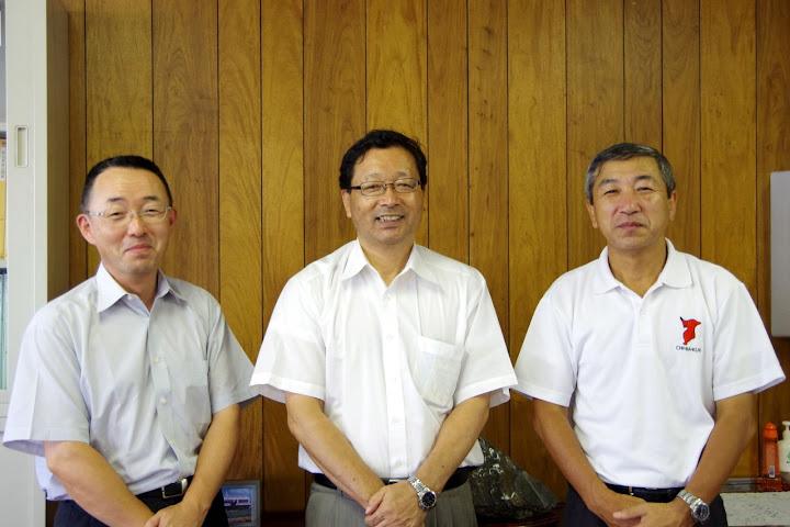 元本埜村第二小学校・森山昭 校長(中)